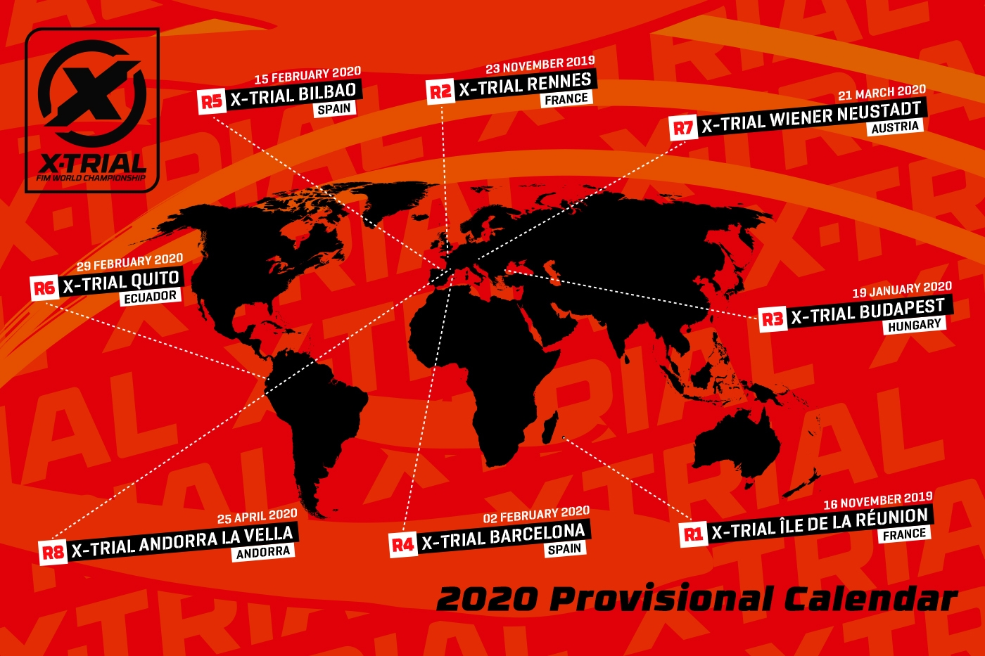 Calendario Barcellona 2020.X Trial