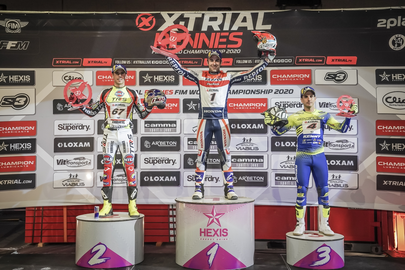 Bou remains leader with victory at X-Trial Rennes