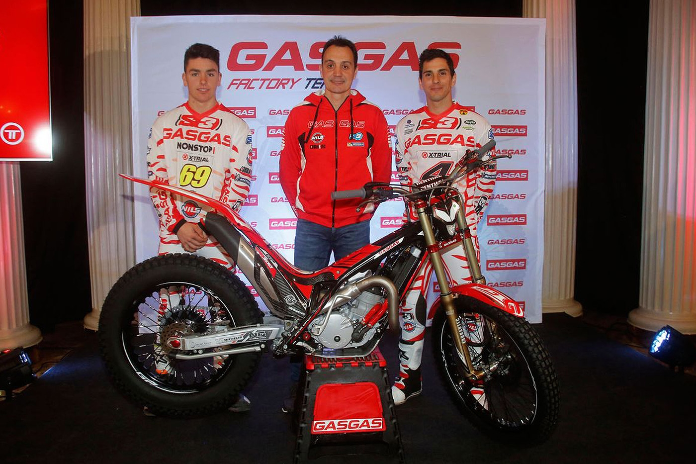 Gas Gas strengthens with Fajardo and Busto