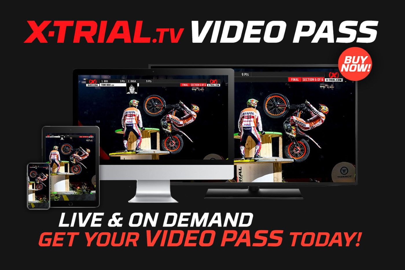 Follow X-Trial live on x-trial.tv