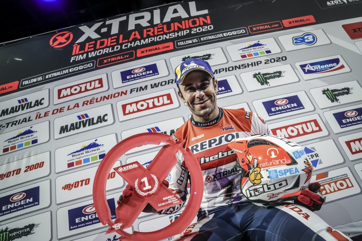 X-Trial Reunion Island 2020 - Toni Bou - Winner