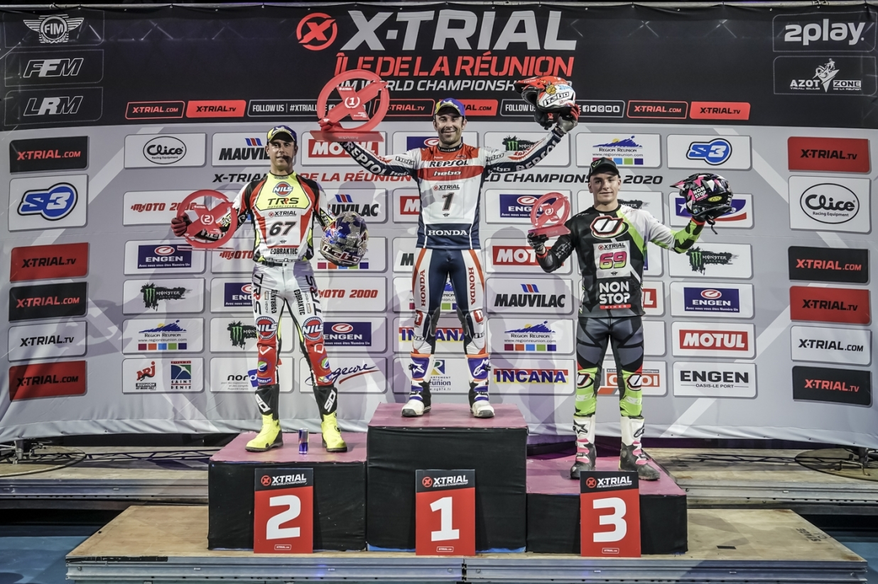 X-Trial Reunion Island 2020 - Podium