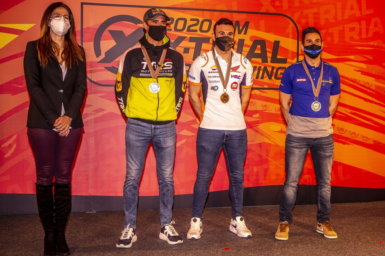 2020 X-Trial World Championship Prize Giving (Andorra)