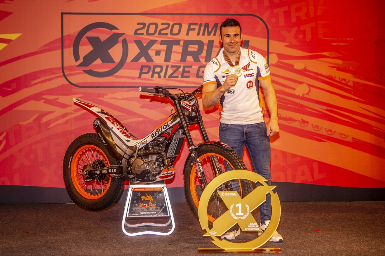 2020 X-Trial World Championship Prize Giving (Andorra) - Toni Bou