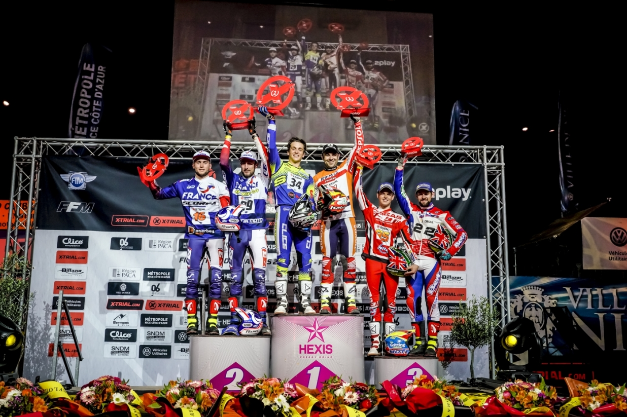 X-Trial des Nations - Podium