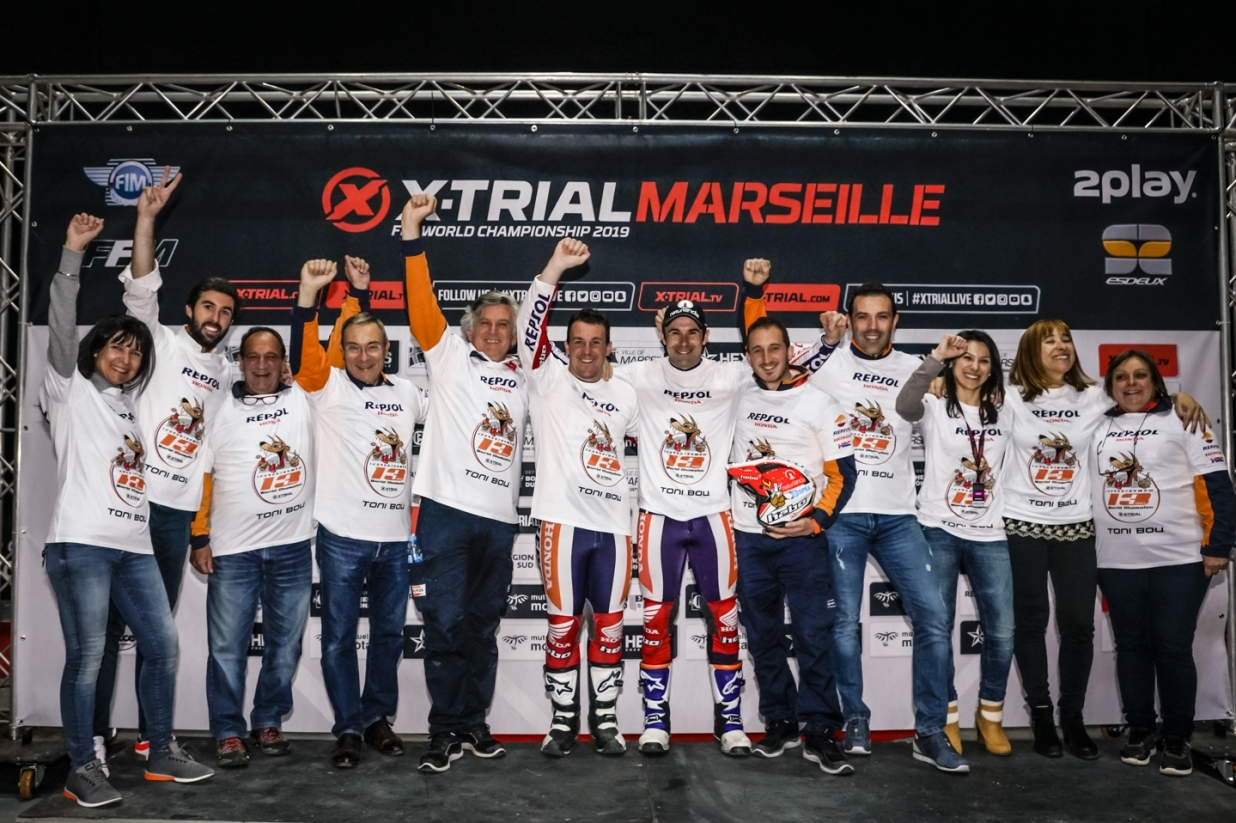 X-Trial Marseille 2019 - Toni Bou - World Champion