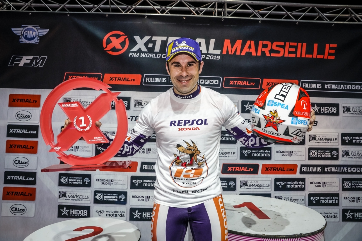 X-Trial Marseille 2019 - Toni Bou - Winner