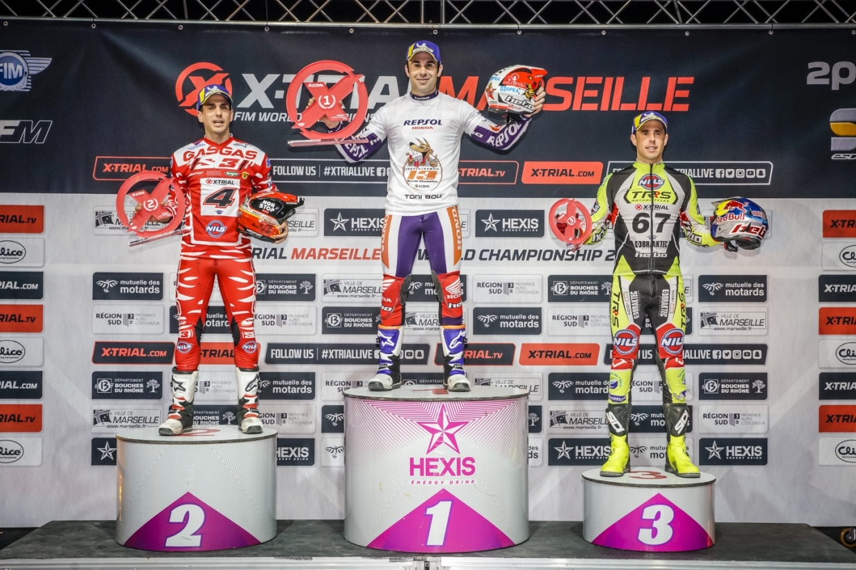 X-Trial Marseille 2019 - Podium