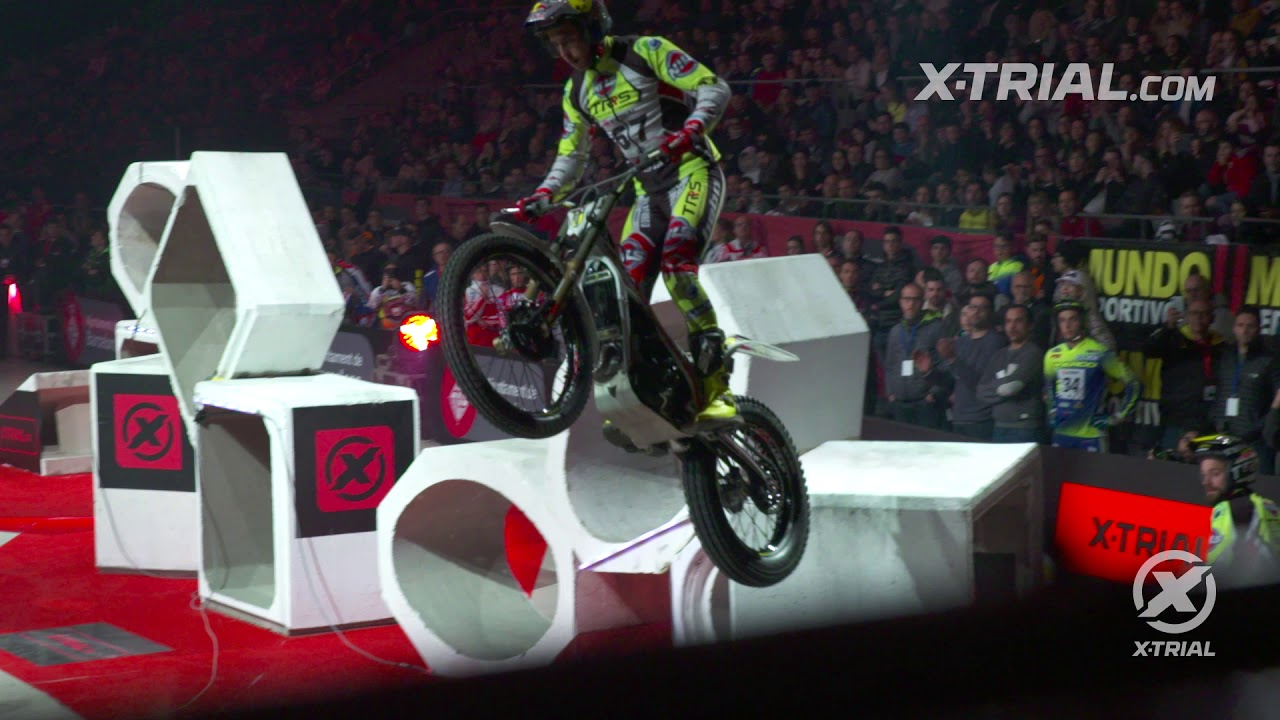 X-Trial Barcelona 2019 - Adam Raga Action Clip