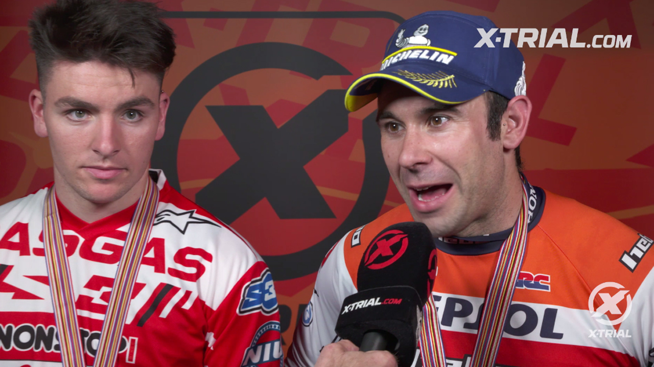 X-Trial des Nations 2019 - Bou & Busto Interview
