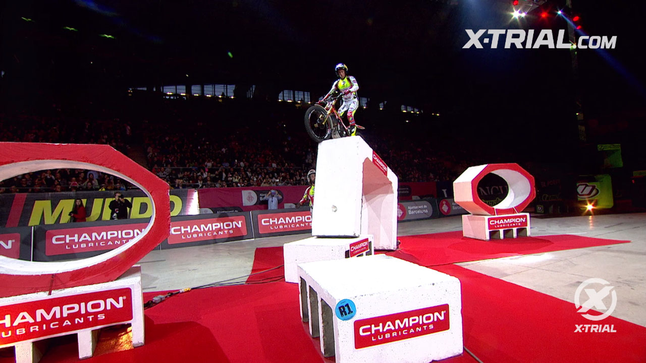 X-Trial Barcelona 2020 - Adam Raga Action Clip