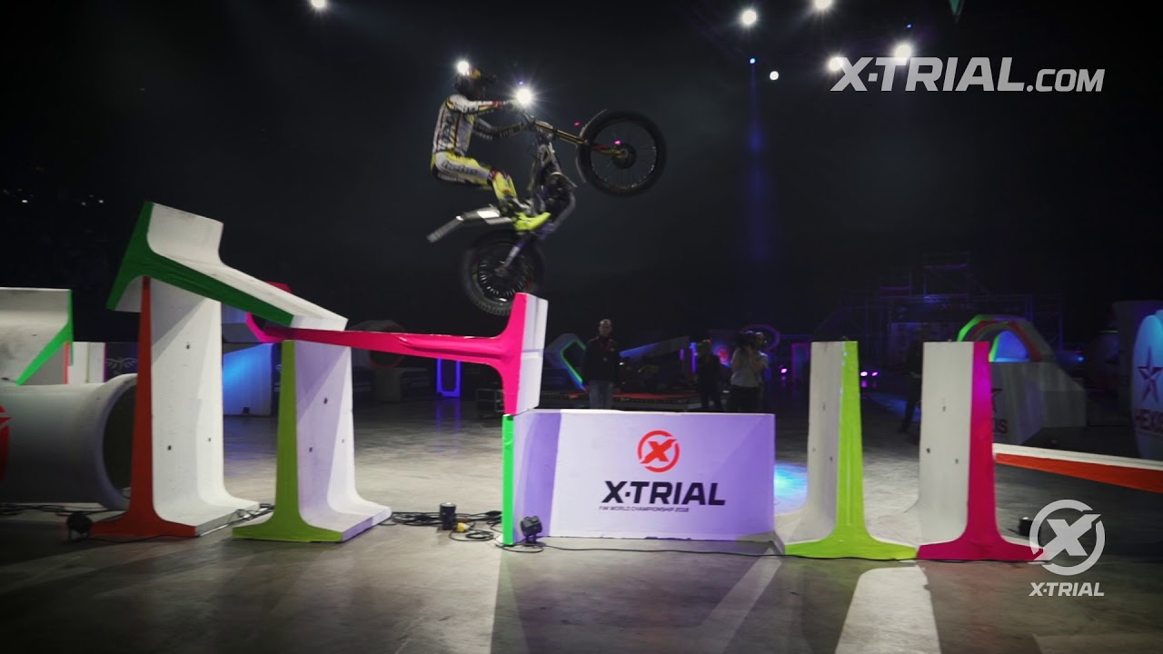 X-Trial Montpellier - Adam Raga Action Clip