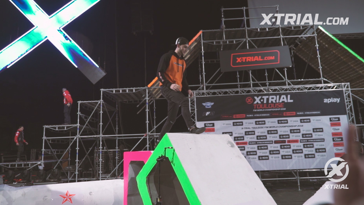 X- Trial Planet - Benoit Bincaz feels like at home
