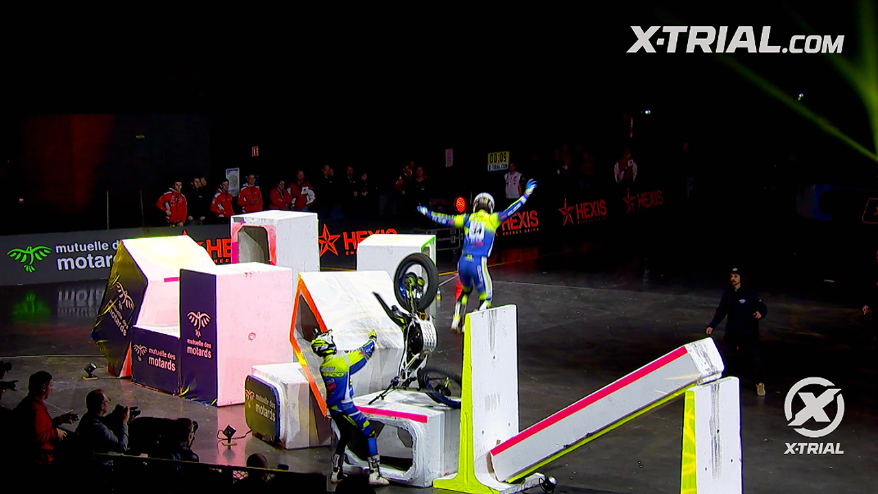 X-Trial Strasbourg - Crashes