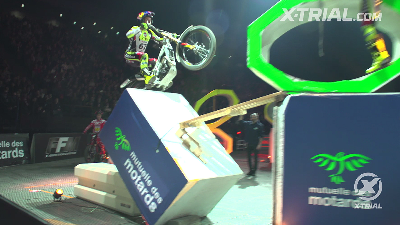 X-Trial París - Adam Raga Action Clip