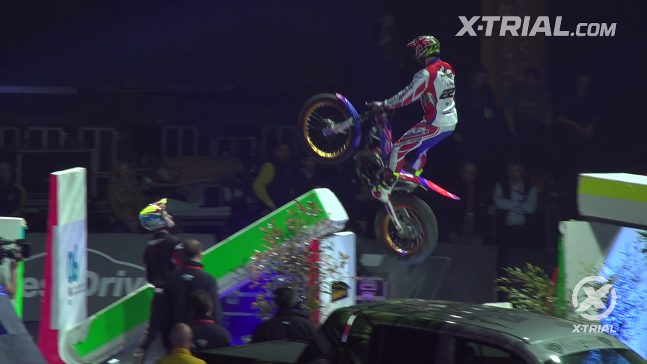 X-Trial des Nations - James Dabill Action Clip