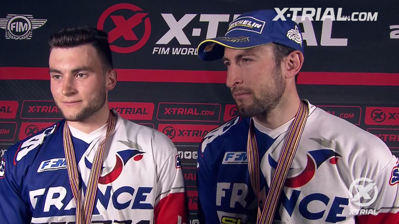 X-Trial des Nations - Bincaz & Ferrer Interview