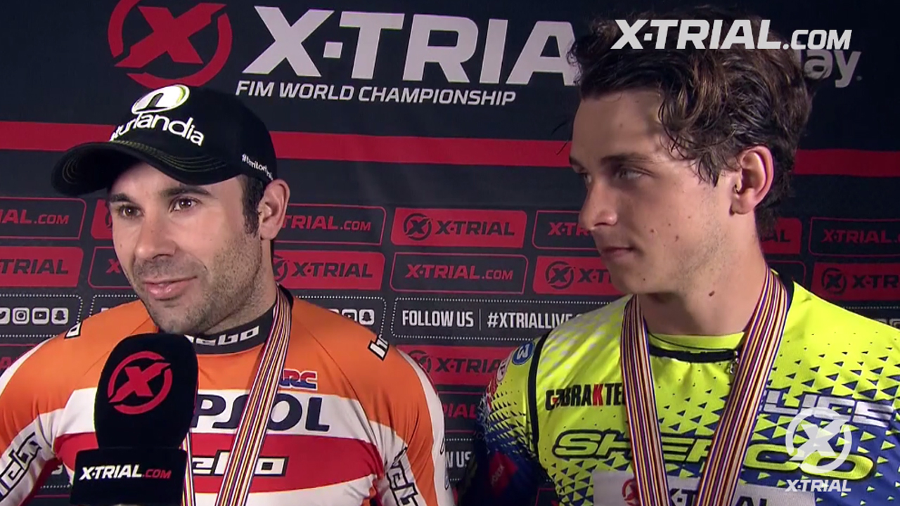 X-Trial des Nations - Bou & Gelabert Interview